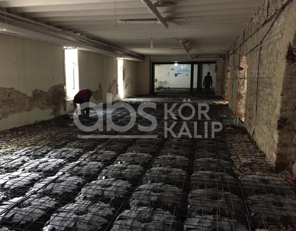 Yeditepe Ermeni Hastanesi - abs kör kalıp