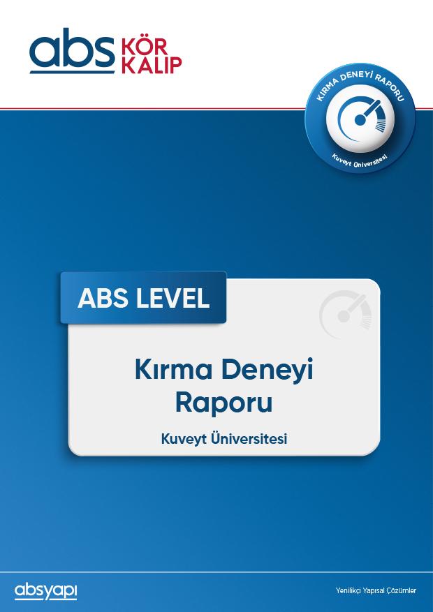 ABS-LEVEL-Kırma-Deneyi-Raporu