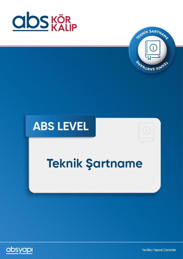 ABS LEVEL Teknik Şartname
