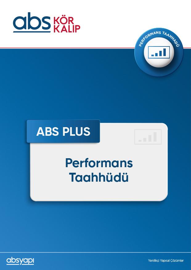 ABS PLUS Performans Taahhüdü